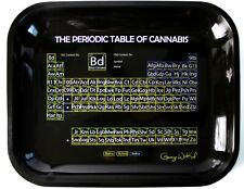"X-Large Rolling Tray 13.5""x11"" by George W Kush • The Periodic Table of Cannabis"