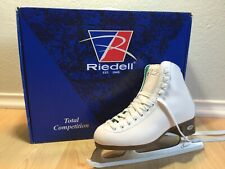 Reidell Ice Skates| White, Size 4 Barely Used| Includes Box
