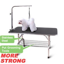 46'' Heavy Duty Portable Pet Dog Cat Profession Dog Show Fold Grooming Table