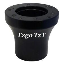Ezgo TxT Golf Cart Black Steering Wheel Hub Adapter