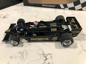 Minichamps Lotus 79 Mario Andretti 1978 F1 World Champion 1/18