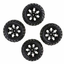 4Pcs Wheels Tire For 1/10 RC Car HPI Savage Flux XS Monster Truck HSP