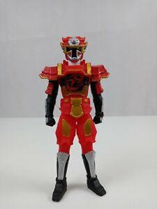 "2015 Bandai Power Rangers Sentai Ninninger Ninja Steel Red Ranger 6.5""  Figure"