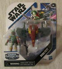 Star Wars Mission Fleet BOBA FETT 2.5in Action Figure ~ Hasbro ~ NIP