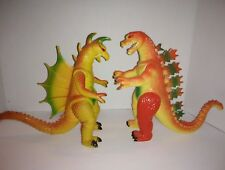 Vintage knockoff imperial Meltdown Godzilla and Gigan set