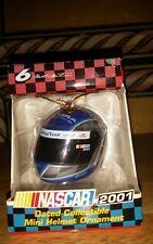 Nascar Collectable Mini Helmet Ornament