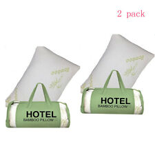 2 Pack Hotel Bamboo Bamboo Memory Foam Pillow Hypoallergenic Comfort King Size