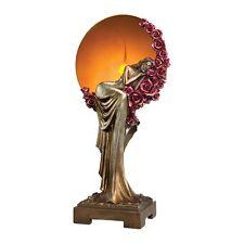 Design Toscano PD60736 Elegant Slumber Art Deco Illuminated Sculpture