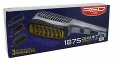 Red by Kiss 1875 Ceramic Ionic Styler 3 Styling Attachments Detangler Pik #BD02U