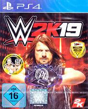 WWE 2k19 PS4 / PlayStation 4 PRO NEU