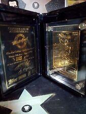 1995 Highland Mint Gold Drew Bledsoe Card #19/375 Patriots Coin Card Lot