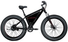 "Rare Sondors Fat Tire Black/Red ""Fully Loaded"" Custom Original Electric Bicycle!"