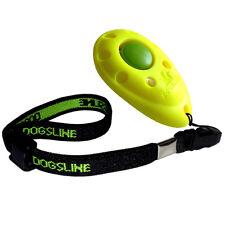 Dogsline Profi Clicker mit elastischer Handschlaufe , Klicker gelb , DL07PA