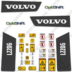 Volvo L220G Decal Kit Large Wheel Loader Equipment Decals - 3M Vinyl!