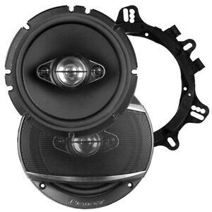 "Pioneer TSA1687S 6.5"" Speakers 4 Way 350 Watts Max Pair"
