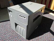 "SATO CL408E Direct Thermal Transfer Label Printer REWINDER 6"" Parallel 4.8 m !!!"