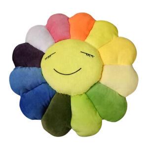 Soft Plush Sofa Cushion Auto Accessory 40cm  Sunflower pillow Fun Toy