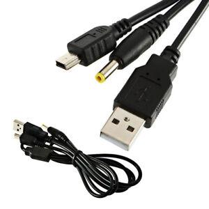 Sony PSP USB Charger + Data Transfer 1000 1001, 2000 2001, 3000 3001 All Models