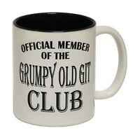 Grumpy Old Git Novelty Joke Humour Old Age MUG cup birthday office funny gift