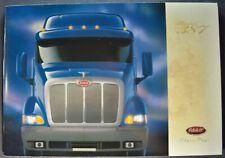 2000 Peterbilt Truck Model 387 Large Brochure Sleeper Cab Excellent Original