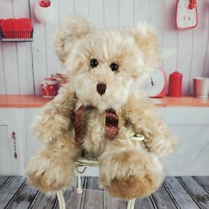 """11"""" Russ Berrie Radcliffe Plush Teddy Bear from the Past Stuffed Animal"""