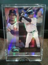 2002 eTOPPS Baseball #98 MANNY RAMIREZ IN HAND BOSTON RED SOX OUTFIELDER