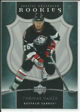 05-06 Artifacts Thomas Vanek RC 330/750 #204 Sabres Rookie