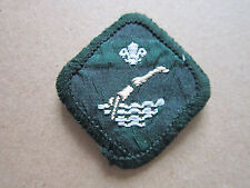 Swimmer Proficiency Woven Cloth Patch Badge Boy Scouts Scouting