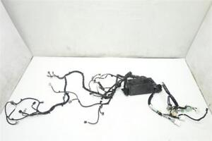 16 Acura MDX Headlight wire harness wires wiring engine room body front 32100-TZ