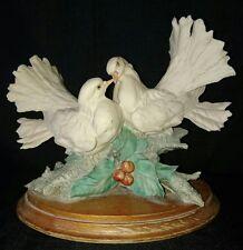 "Capodimonte Giuseppe Armani ""Love Doves"" Figurine - Signed."