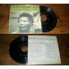 Ella Fitzgerald - The First Lady Of Jazz French EP Jazz Vocal Brunswick 1958