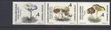 URUGUAY 1997 MUSHROOMS CHAMPIGNONS (Sc 1646 complete set) VF MNH