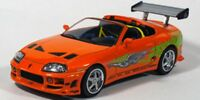 GREENLIGHT Fast & Furious cars Supra RX-7 GT40 Gran Torino Dodge Charger Nissan