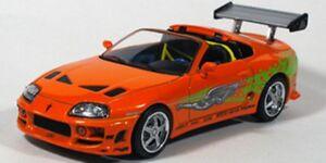 GREENLIGHT Fast & Furious car Supra RX-7 GT40 Gran Torino Dodge or Nissan R34