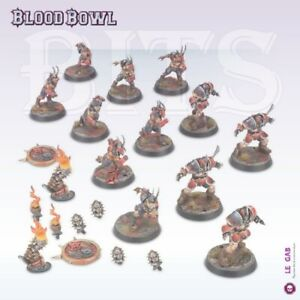 BLOOD BOWL Chaos Auserwählte Team The Doom Lords Bitz