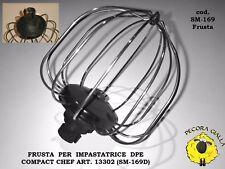 Frusta Sbattiuova per Impastatrice Planetaria DPE COMPACT CHEF art. 13302