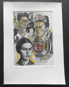 Hedwig Pauwels Exlibris, Frieda Kahlo