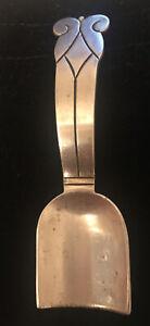 Vintage HECTOR AGUILAR Mexican 940 HA Sterling Silver Sugar Shovel Spoon Taxco