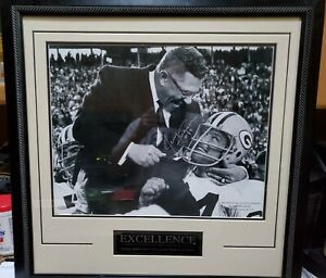 Framed Matted Autograph Jerry Kramer Packers Vince Lombardi 16x20 Photo Steiner