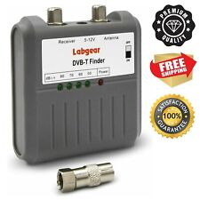 More details for labgear 27866r dvb t signal strength finder freeview hd tv aerial meter tester