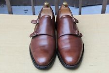"CHAUSSURE CROCKETT&JONES DOUBLE BOUCLE ""HUNTLEY"" 9 E 43 SUPER ETAT MEN'S SHOES"