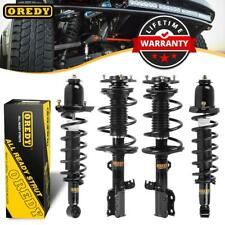 Full Set of 4 Complete Struts & Coil Spring Assembly For Toyota Corolla 03-08