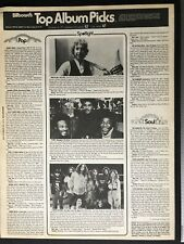 "ORIGINAL LYNYRD SKYNYRD Article Billboard Album Review Of ""One More For The Road"