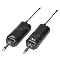Wireless 6.35mm Cord Male to Male Plug Audio Lead Electric Guitar Bass AMP Cable
