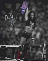 AJ Lee WWE WWF Diva Autographed Signed 8x10 Photo REPRINT