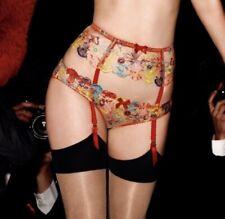AGENT PROVOCATEUR Zuri Suspender Belt BNWT Multi Coloured Size 2