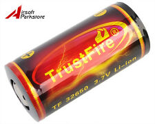 TrustFire TF32650 6000mAh 3.7V Rechargeable Li-ion Battery for Flashlight Torch