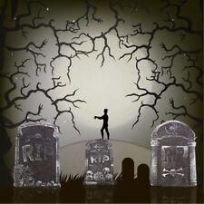 2 Tombstones Halloween Prop Decoration Haunted Spooky Decor House Outdoor Indoor