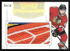 11/12 Dominion Mammoth #5 Brandon Saad Jumbo 5 Color LOGO Patch Card #05/10
