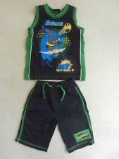 Mothercare Boys Batman Summer PJ's Shorts Vest Nightwear Pyjamas 1.5-2 18-24